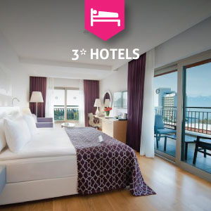 3* Hotels in Antalya