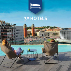 3* Hotels in Barcelona
