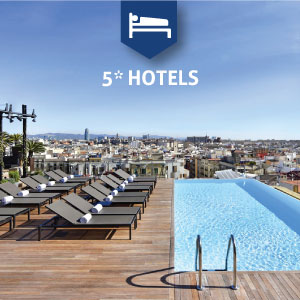 5* Hotels in Barcelona