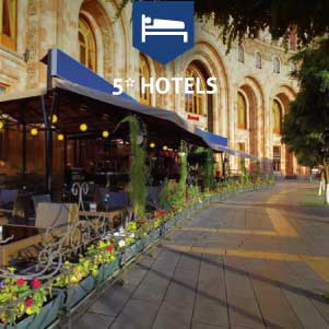 5* Hotels in Yerevan
