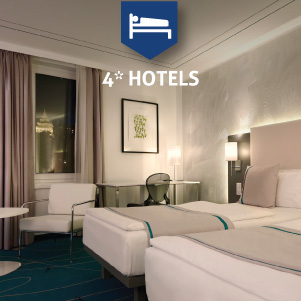 4* Hotels in Budapest
